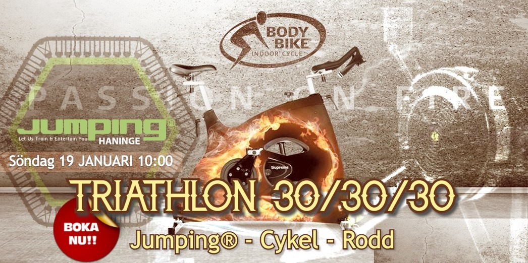 Jumping Haninge TRIATHLON 19 januari 1000