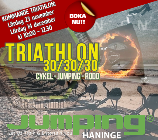 Kommande Triathlon 23 november 14 dec 2019